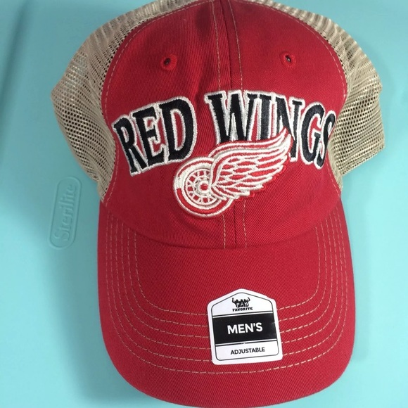 new arrivals f53a5 31c98 ... coupon for nhl official detroit red wings hat fan favorite 1b361 b2cba